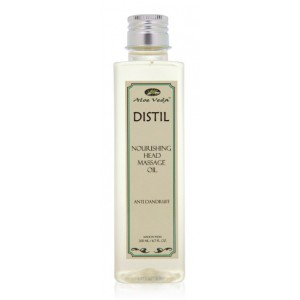 Buy Aloe Veda Distil Nourishing Head Massage Oil - Anti Dandruff - Nykaa
