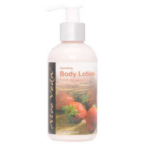 Buy Aloe Veda  Hydrating Body Lotion (Fresh Strawberry) - Nykaa