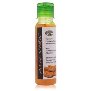 Buy Aloe Veda Turmeric Clarifying Face Wash - Nykaa