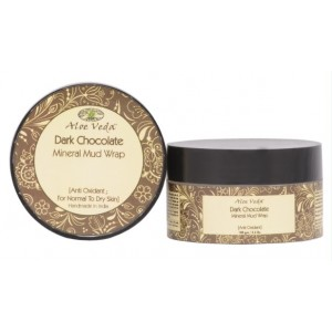 Buy Aloe Veda  Dark Chocolate Anti-Oxidant Mineral Mud Wrap - Nykaa