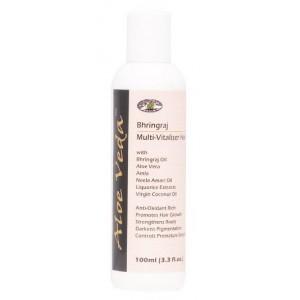 Buy Aloe Veda  Bhringraj Multi-Vitaliser Hair Oil - Nykaa