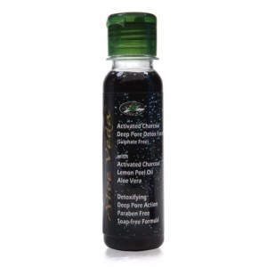 Buy Aloe Veda  Activated Charcoal Deep Pore Detox Face Wash - Nykaa