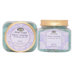 Buy Aloe Veda  Aromatherapy Bath Salt - French Lavender (relaxing) - Nykaa