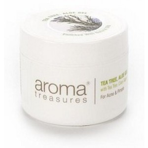 Buy Aroma Treasures Tea Tree Aloe Gel - Nykaa