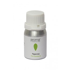 Buy Aroma Treasures Peppermint Oil - Nykaa