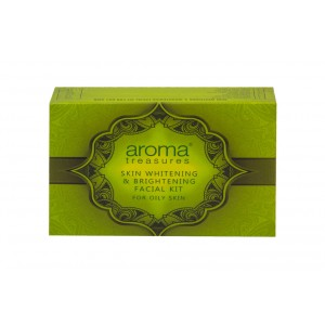 Buy Aroma Treasure Skin Whitening And Brightening Facial Kit For Oily Skin - Single Time - Nykaa