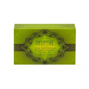 Buy Aroma Treasure Skin Whitening And Brightening Facial Kit For Dry Skin - Single Time - Nykaa