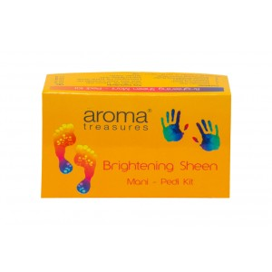 Buy Herbal Aroma Treasure Brightening Sheen Mani - Pedi Kit - Single Time - Nykaa