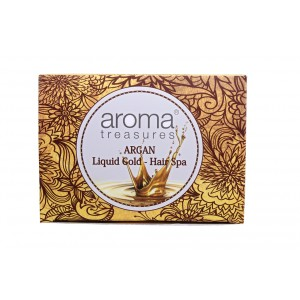Buy Aroma Treasures Argan-Liquid Gold Hair Spa - Nykaa
