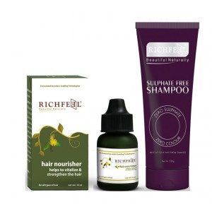 Buy Richfeel Hair Nourish Combo - Nykaa