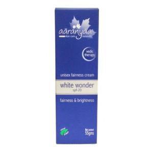 Buy Aaranyaa Unisex Fairness Cream White Wonder Spf-20 - Nykaa