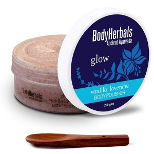 Buy BodyHerbals Vanilla Lavender Body Polisher - Nykaa