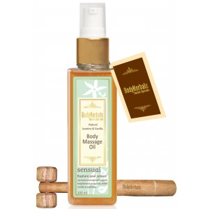 Buy BodyHerbals Natural Jasmine Vanilla Body Massag Oil - Nykaa