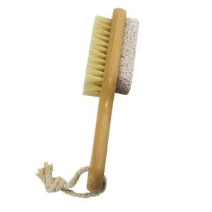 Buy Panache Wooden Pumice Stone & Brush Combo - Nykaa