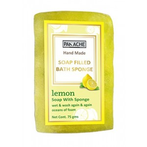Buy Panache Soap Filled Sponge - Lemon - Nykaa