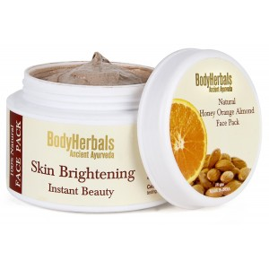 Buy BodyHerbals Skin Brightening Face Pack - Nykaa