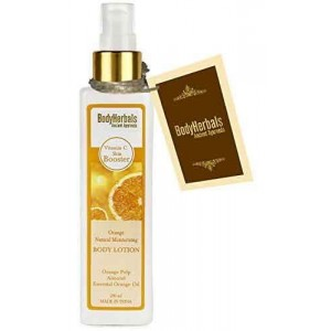 Buy BodyHerbals Orange Natural Moisturising Body Lotion - Nykaa