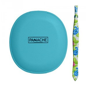 Buy Panache Turquoise Blue Compact Mirror & Tweezer Face Care Combo - Nykaa