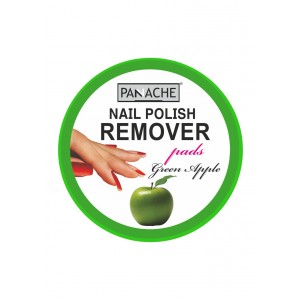 Buy Panache Nail Polish Remover Pads - Green Apple - Nykaa