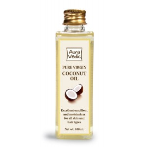 Buy Auravedic Pure Virgin Coconut Oil - Nykaa