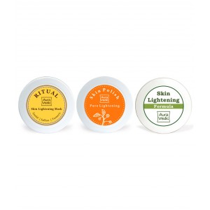 Buy Auravedic Ultra Skin Lightening Kit - Nykaa