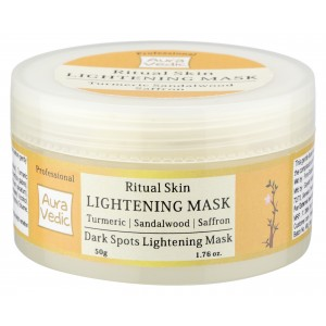Buy Auravedic Professional Ritual Skin Lightening Mask - Nykaa
