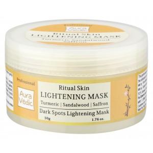 Buy Auravedic Professional Ritual Skin Lightening Mask - Nykaa