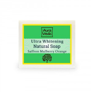 Buy Auravedic Ultra Whitening Soap - Nykaa