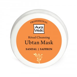 Buy Herbal Auravedic Professional Ritual Cleansing Ubtan Mask - Nykaa