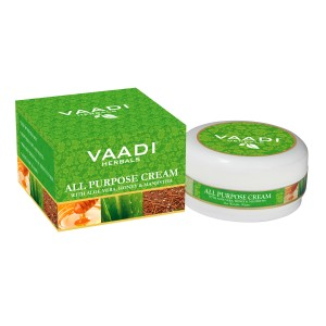 Buy Vaadi Herbals All Purpose Cream With Aloe Vera, Honey & Manjistha - Nykaa