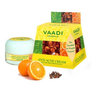 Buy Vaadi Herbals Anti-Acne Cream - Clove  Neem & Orange Extract - Nykaa