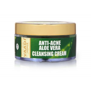 Buy Vaadi Herbals Anti-Acne Aloe Vera Cleansing Cream - Nykaa