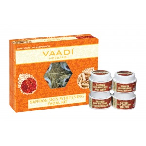 Buy Vaadi Herbals Saffron Skin Whitening Facial With Extract Of Sandalwood - Nykaa