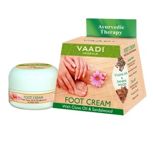 Buy Herbal Vaadi Herbals Foot Cream With Clove & Sandal Oil - Nykaa