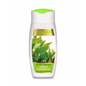 Buy Vaadi Herbals Superbly Smoothing Heena Shampoo With Green Tea Extracts - Nykaa