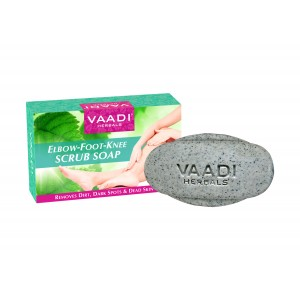 Buy Vaadi Herbals Elbow-Foot-Knee Scrub Soap With Almond & Walnut Scrub - Nykaa