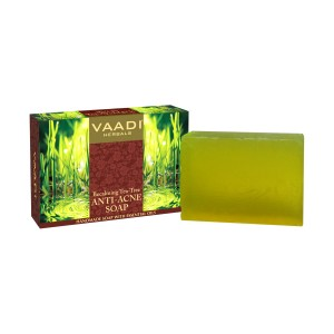 Buy Vaadi Herbals Anti-Acne Soap With Clove & Tea Tree Oil - Nykaa