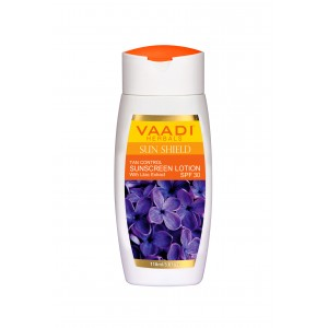 Buy Vaadi Herbals Sunscreen Lotion With Lilac Extract - SPF 30 - Nykaa