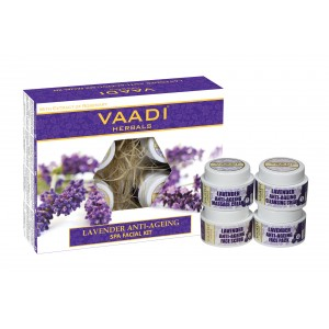 Buy Vaadi Herbals Lavender & Rosemary Spa Facial Kit - Nykaa