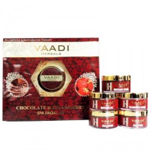 Buy Vaadi Herbals Chocolate & Strawberry Spa Facial Kit - Nykaa