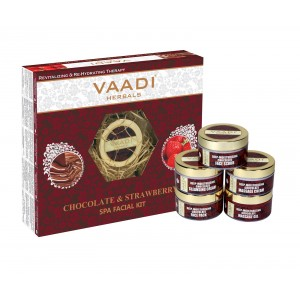 Buy Vaadi Herbals Chocolate & Strawberry Spa Facial Kit - Nykaa
