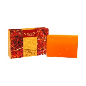 Buy Herbal Vaadi Herbals Luxurious Saffron Soap - Skin Whitening Therapy - Nykaa