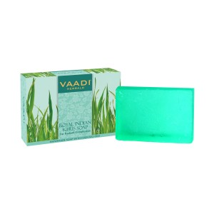 Buy Vaadi Herbals Royal Indian Khus Soap for Radiant Complexion - Nykaa