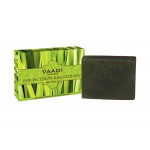 Buy Vaadi Herbals Enticing Lemongrass Scrub Soap - Nykaa