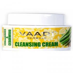 Buy Vaadi Herbals Lemongrass & Cedarwood Cleansing Cream - Nykaa