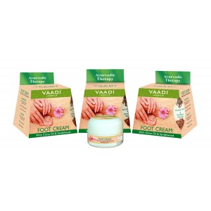 Buy Vaadi Herbals Value Pack Of 3 Foot Cream - Clove & Sandal Oil - Nykaa