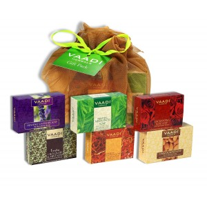 Buy Vaadi Herbals Assorted Soaps Gift Pack - Nykaa