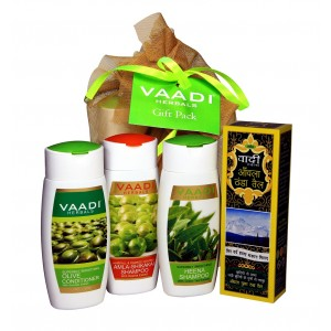 Buy Vaadi Herbals Shiny Hair Gift Pack - Nykaa