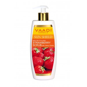 Buy Vaadi Herbals Strawberry Scrub Lotion With Walnut Grains  - Nykaa