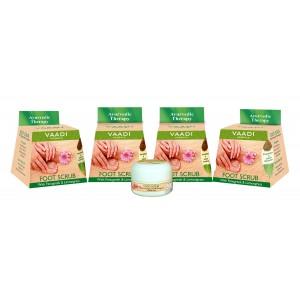 Buy Vaadi Herbals Value Pack Of 4 Foot Scrub With Fenugreek & Lemongrass Oil - Nykaa